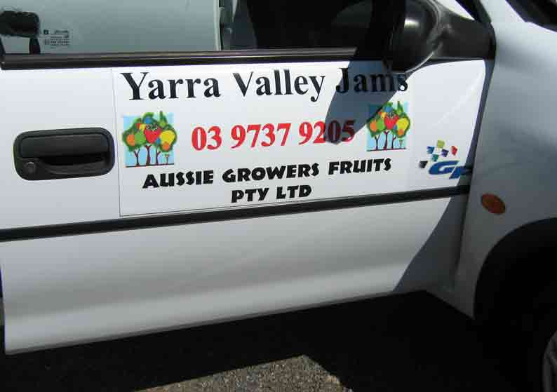 Aussie Growers Fruits Vehicle Graphics