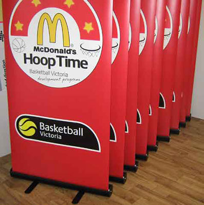 McDonald's Pull Up Banners