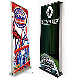 Double Sided Pull Up Banners of Renault
