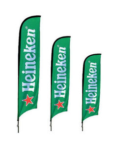 Heineken Feather Flag