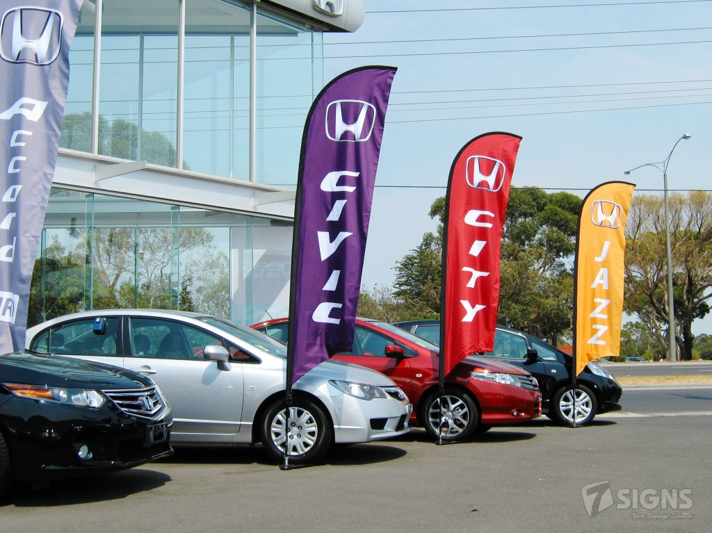 Honda Car Feather Flag