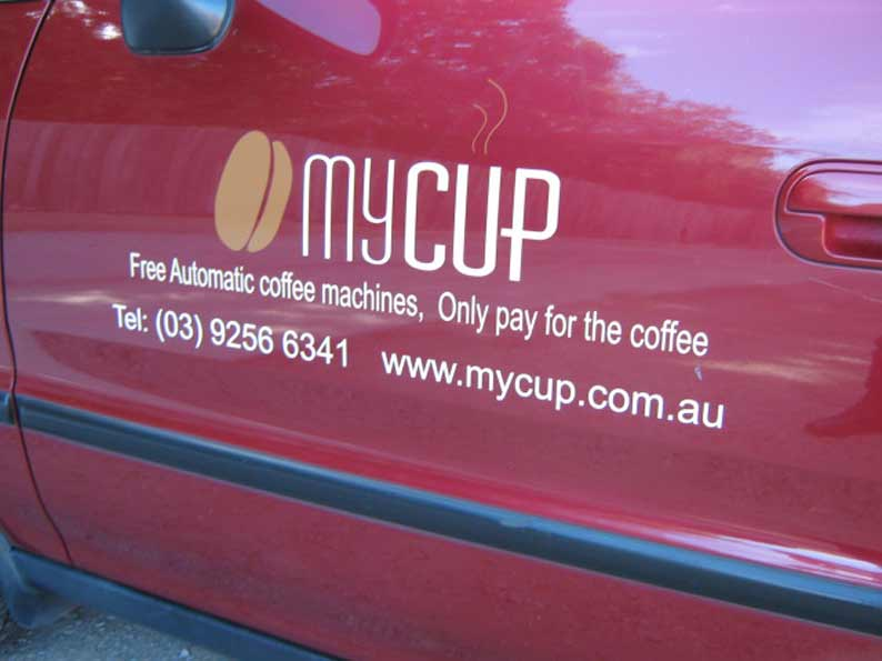 MyCup Vehicle Graphics