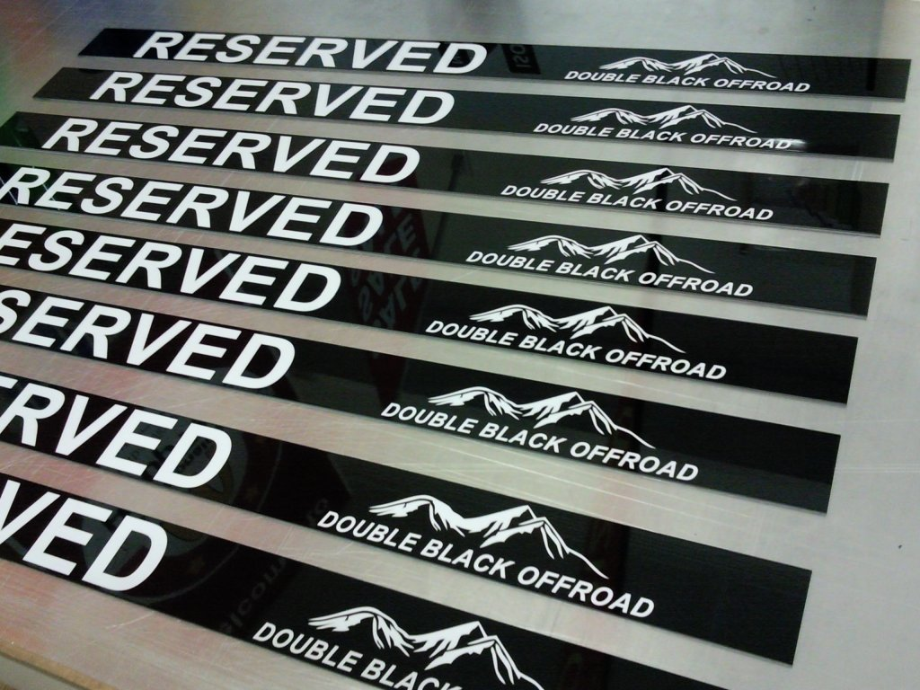 Parking Reserved Metal Signs