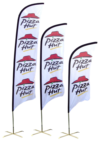 Pizza Hut Feather Banner