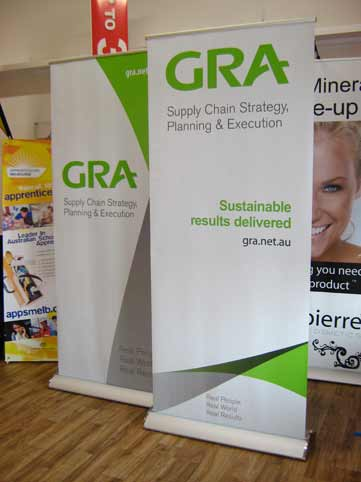 Gra Deluxe Pull Up Banner