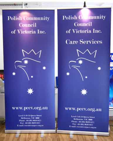 Pull Up Banners of Polish Community Council
