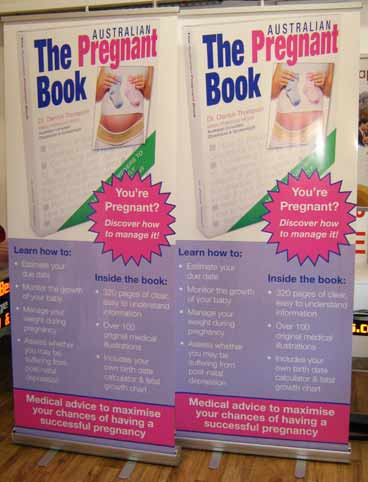The Pregnant Books Pull Up Banners