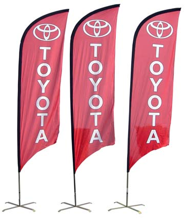Toyota Feather Banner