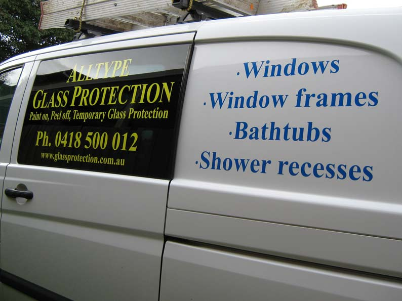Vehicle Graphics for AllType Glass Protection