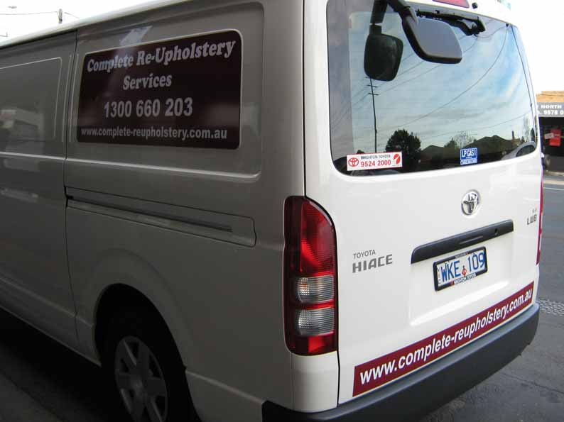 Vehicle Graphics of Complete Re-Upholstery Services