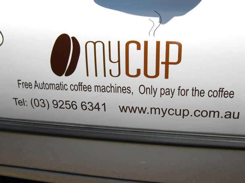 Vehicle Graphics of MyCup